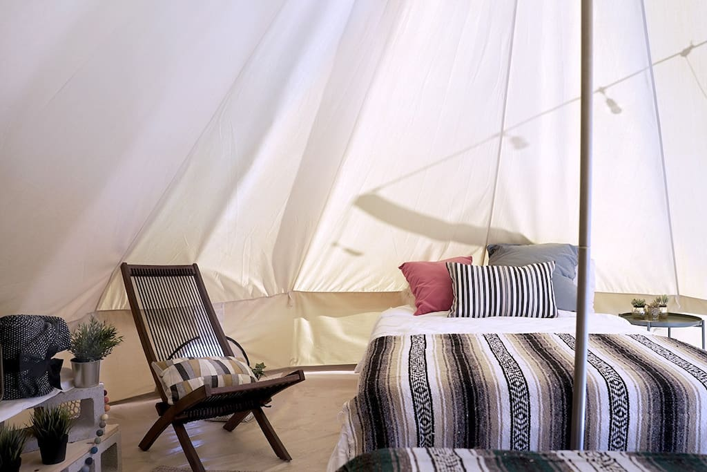 2 Bed Bell Tent