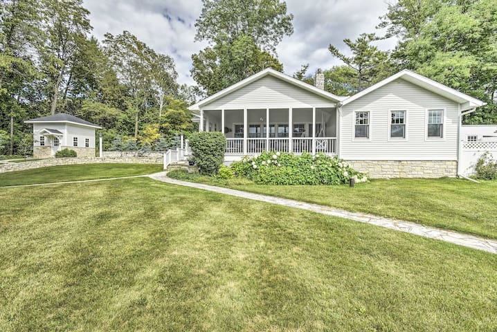 NEW! Ephraim Home w/ Yard - Walk to Lake Michigan!