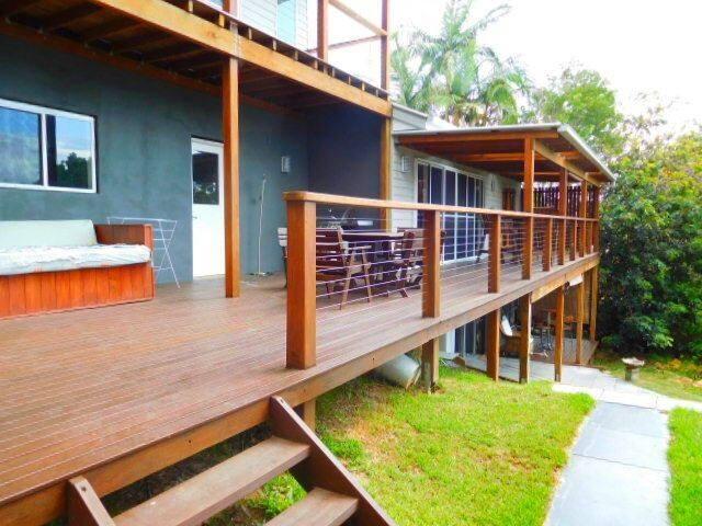 Large verandahs