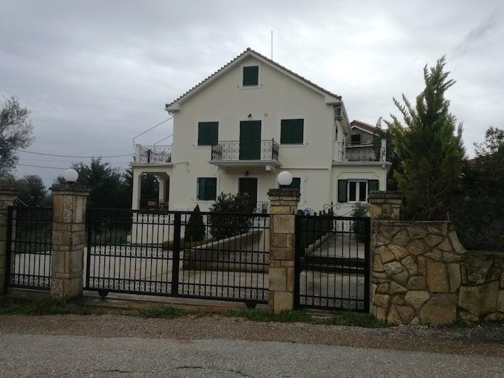 Kefalonia, Karavados, flat with garden and view