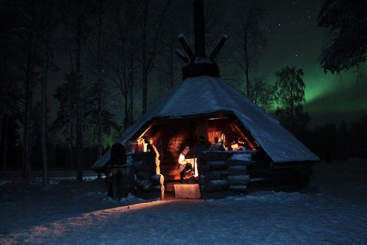 The warm hut