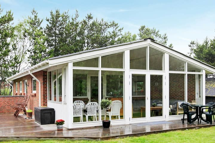 Modern Holiday Home in Jerup Denmark with Garden