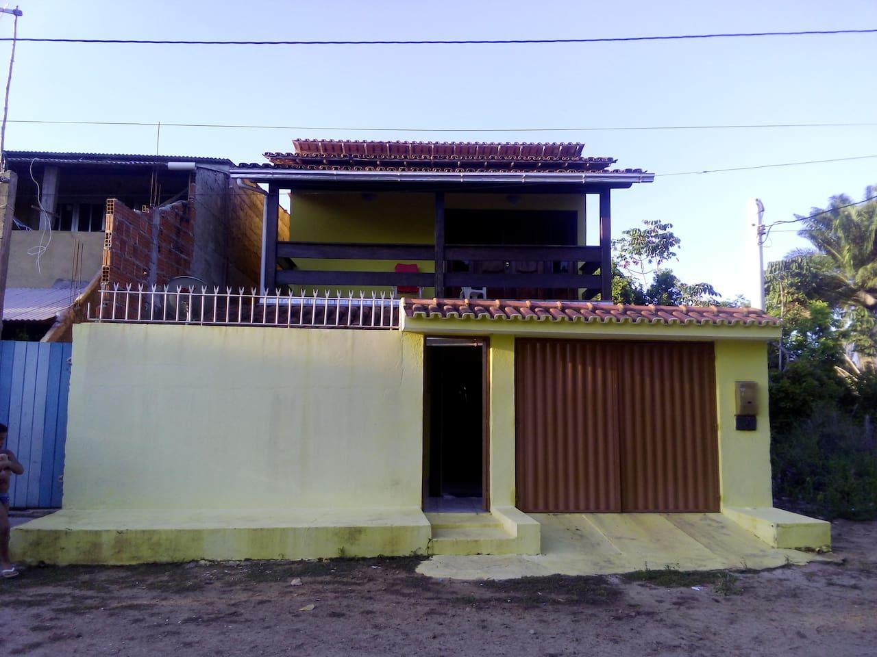 Frente da casa.