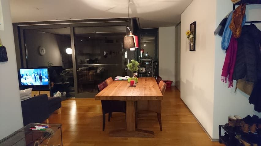 modern&urban flat for 1-3 p., UNBEATABLE location - Winterthur - Byt