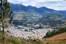 Otavalo and Cotacachi are just a short taxi ride from Sara Lodge.