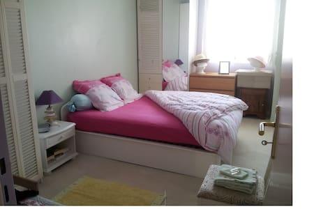 Chambre très claire - Le Pré-Saint-Gervais - Lägenhet