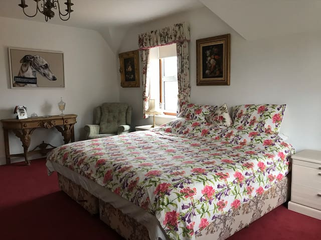 This is a 7 ft bed or can be converted into two  3ft 6'' single beds.