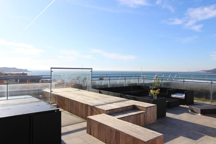 Amazing penthouse with rooftop - wonderful view