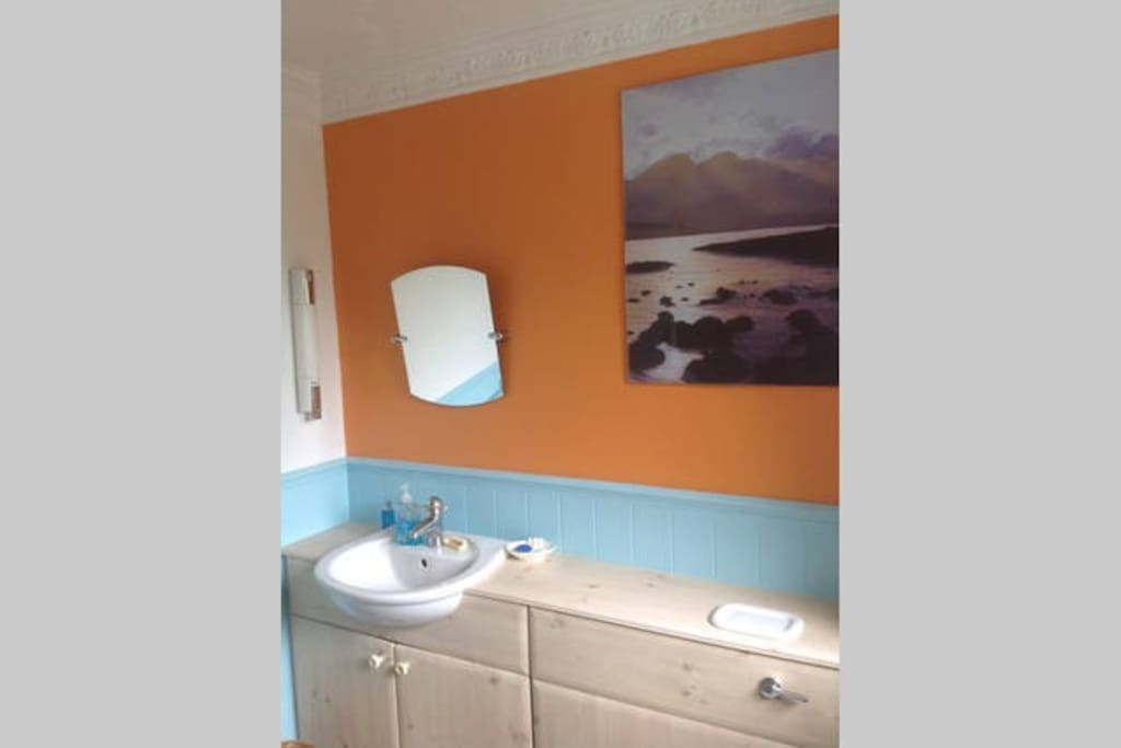 Modern airy bathroom