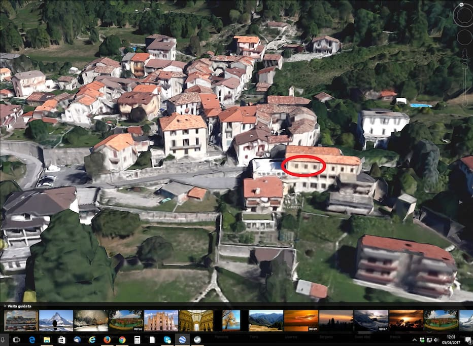 Apartment from Google Earth