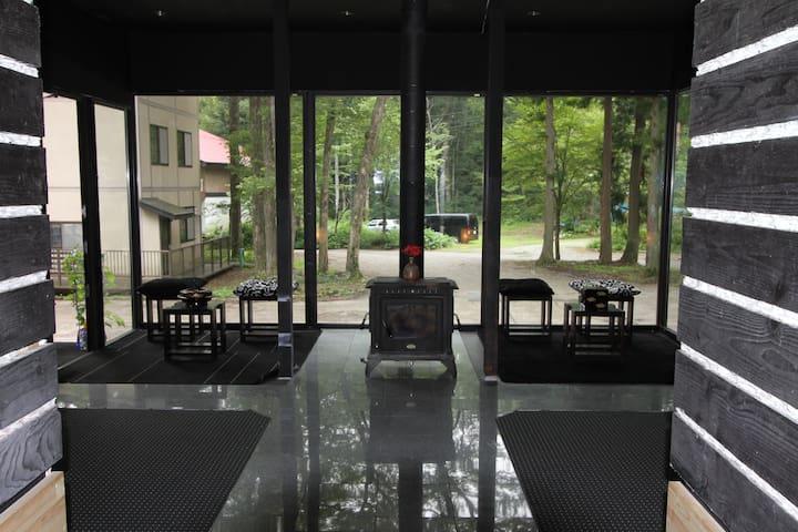 Alpine Lodge in Hakuba, 3 share room