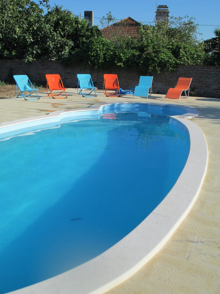 Maison typique Portugaise avec piscine