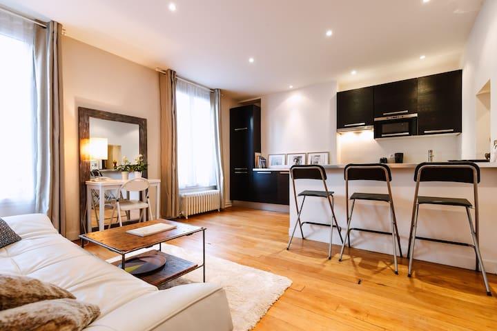40 m2 appartment, calm & cosy, Place Monge 5e