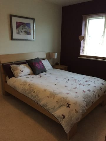 Lovely spacious double room 20min from London! - Saint Albans - Pis