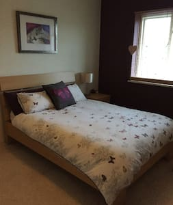 Lovely spacious double room 20min from London! - Saint Albans - Apartment
