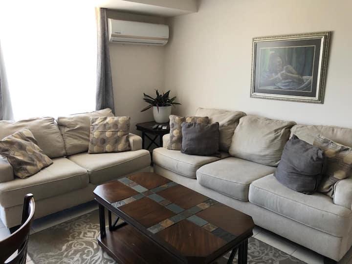 Apartamento amueblado de 2 habitaciones