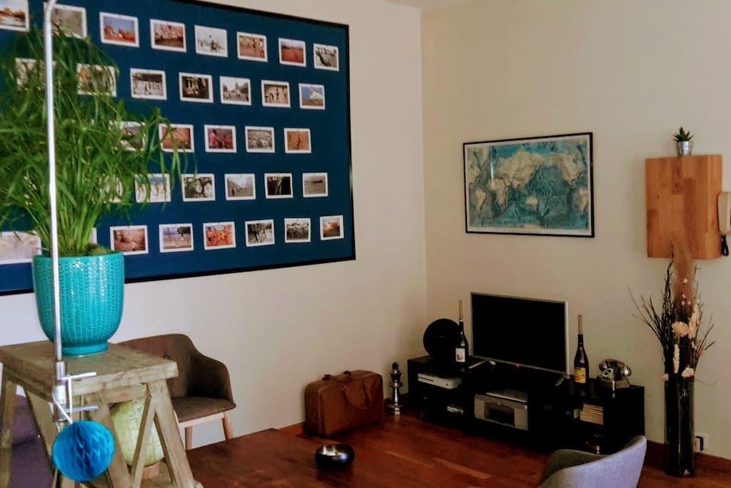 appartement cosy au coeur de rouen appartements louer rouen normandie france. Black Bedroom Furniture Sets. Home Design Ideas