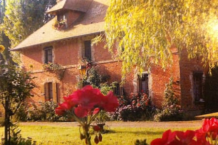 10 mn Cabourg Chambre Nature à La Ferme des Vignes
