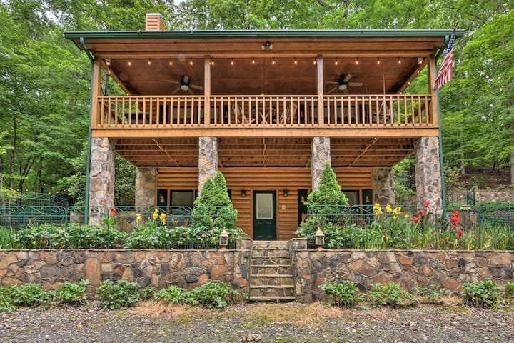 NEW! Stunning River Retreat w/Resort Perks + Deck!