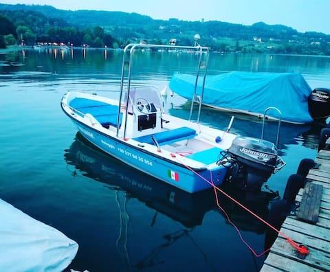 Affitto barca  e bungalow presso campingpleinsolei