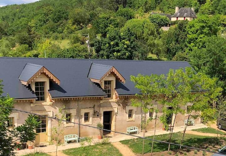 Luxe vakantiewoning op unieke plek in de Périgord