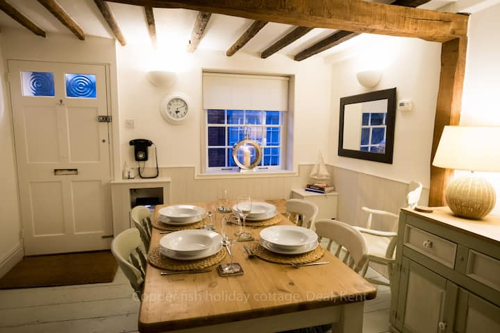 The Copper Fish, Holiday Cottage