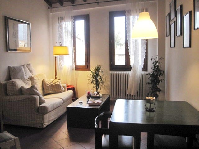 room in tipical florentine apart
