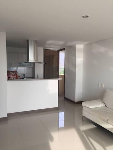 Apto Kankurua - Santa Marta - Apartamento