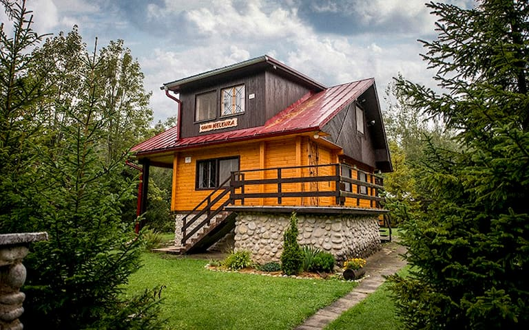 Großzügiges,verzücktes Chalet im Wald - Stará Lesná - Houten huisje