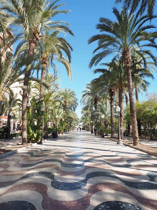 Explanada of Alicante