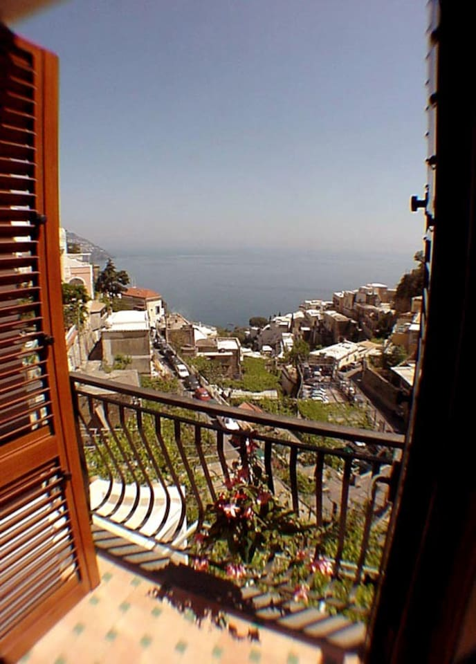 Sea-view from the small terrace of Ludovica Type C