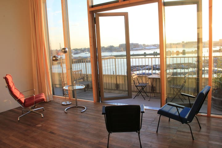 Studio with amazing view !!! - Amsterdam - Appartement