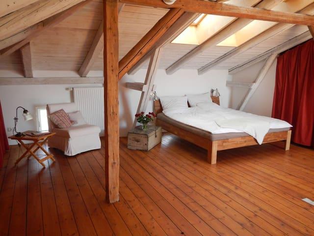 Schönes komfortables Ferienzimmer