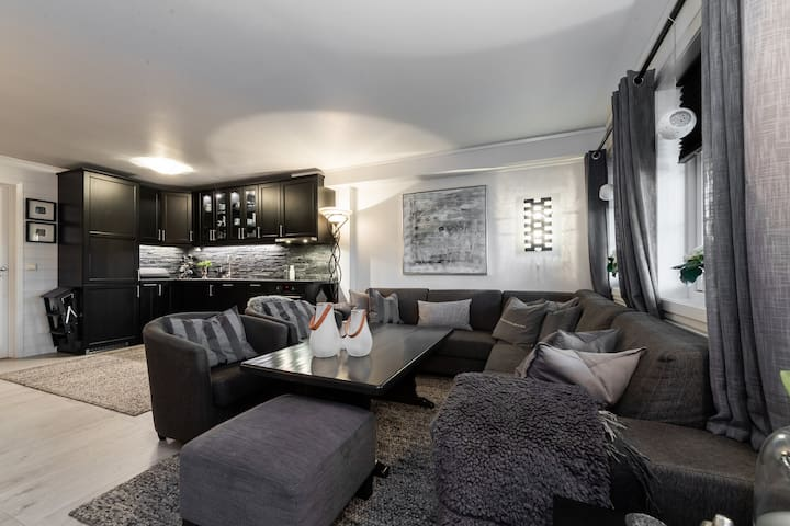 Apartment at Gautefall Lovley and fully-equipped!