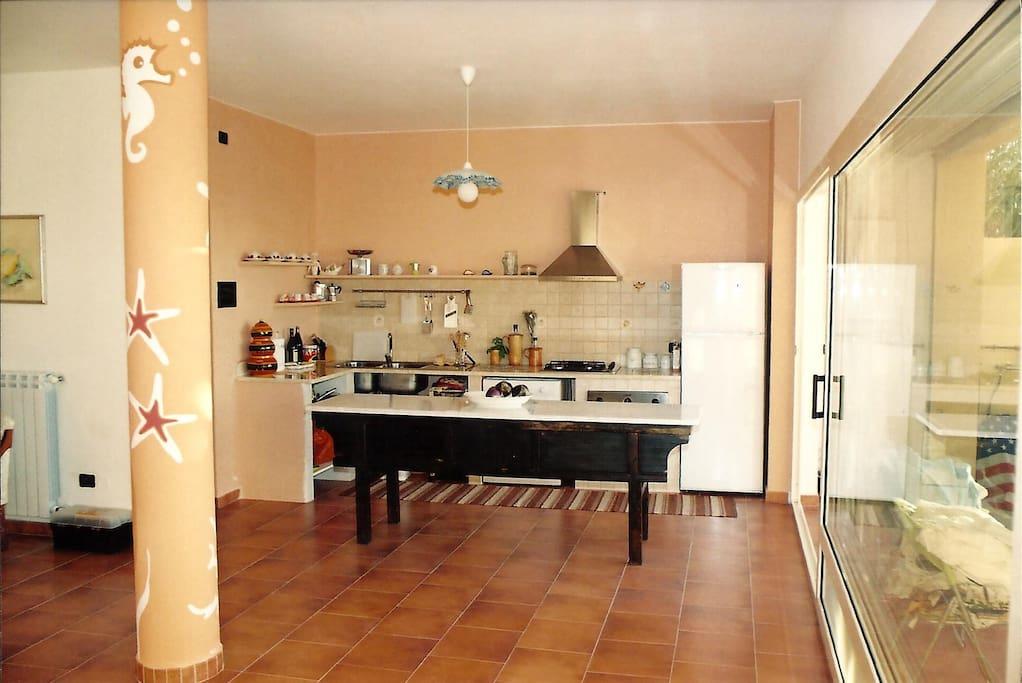 Cucina Piano Veranda