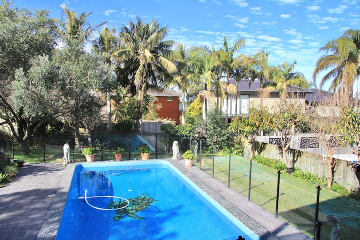 Hidden Gem in Collaroy Plateau with swimming pool
