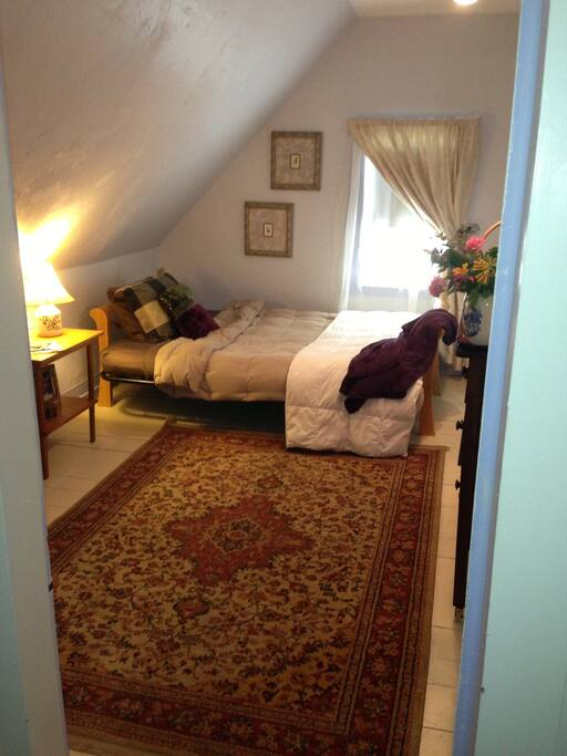 Your pretty fully furnished room