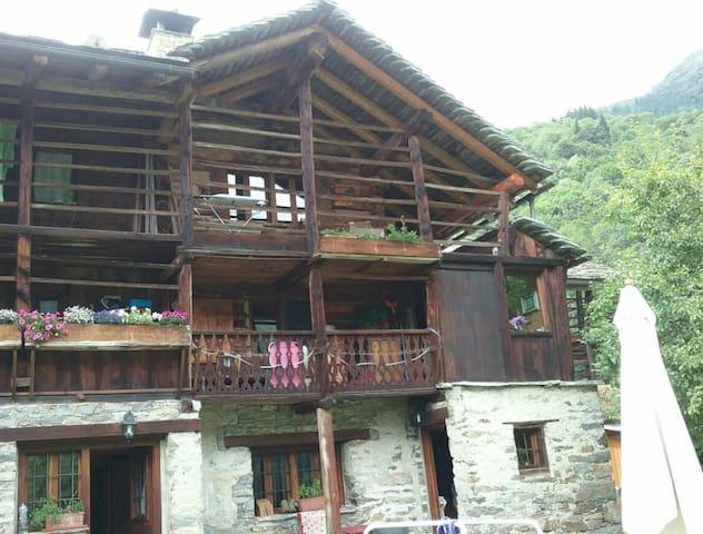 Fun da Rufinu Hus La casa della Rusa - Alagna Valsesia - Wohnung