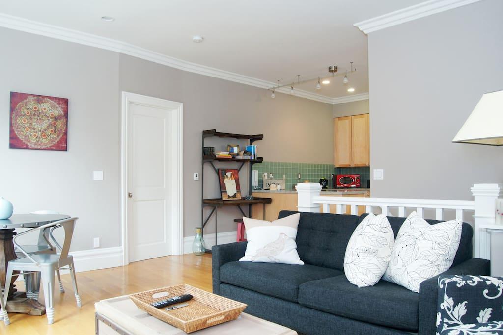 Open and airy floor plan