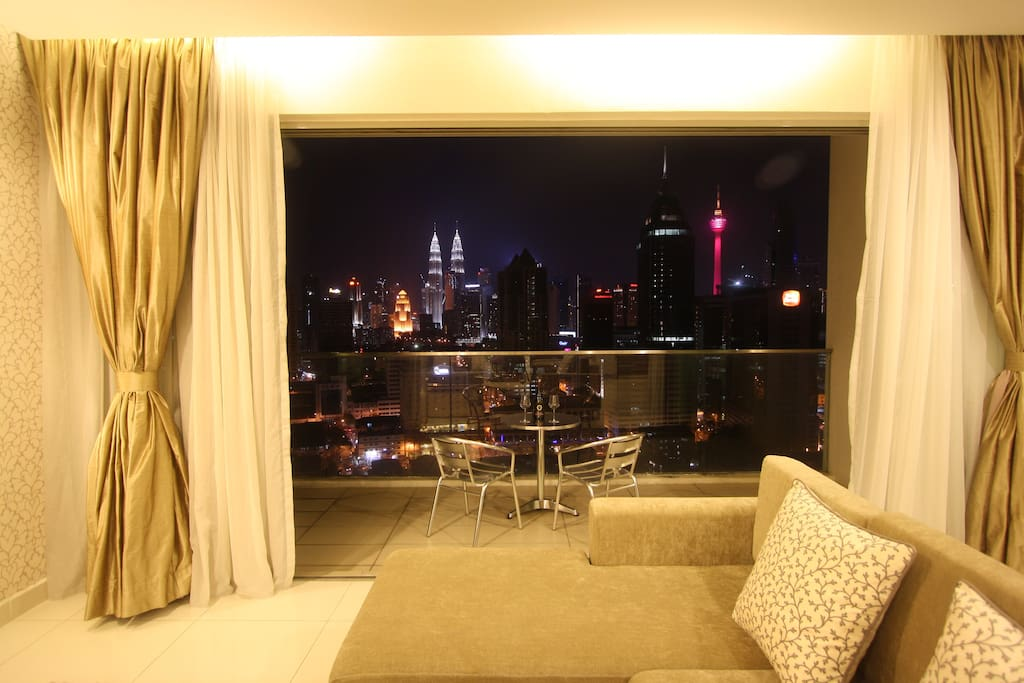Breathtaking view from living room