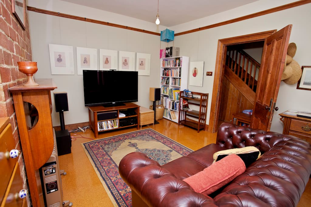 Your own home cinema/TV room, with a library of movies to indulge in