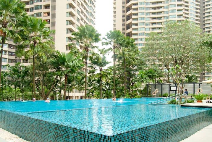 Resort room with a fantastic view!! - Mumbai - Appartamento