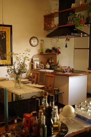 the wonderful kitchen where you'll be having breakfast