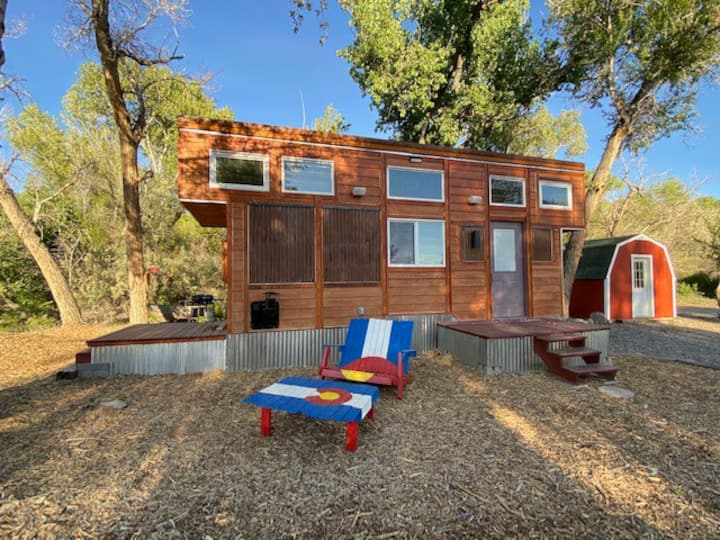 Gorgeous Tiny House on a Private 70 Acre Ranch