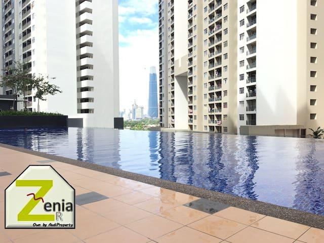 Zenia Roof Kuala Lumpur Master Bedroom Nice View