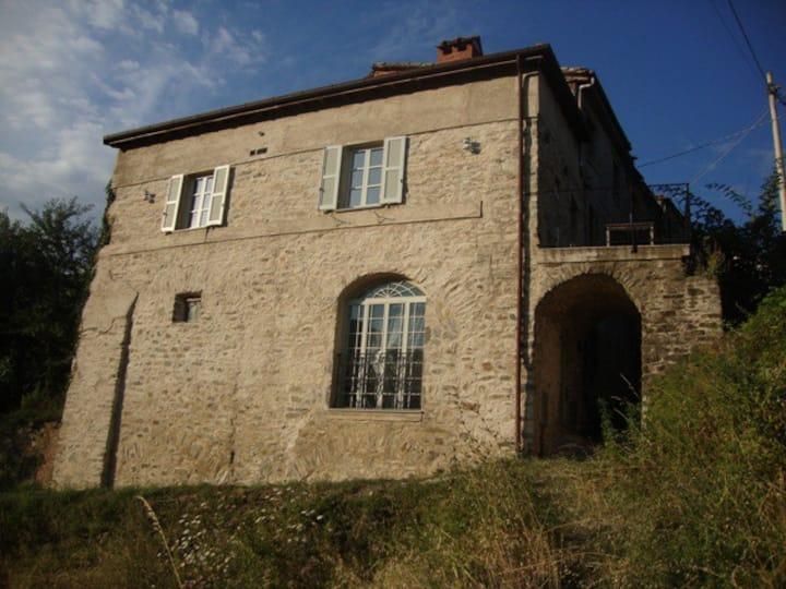 Cottage in Lavaggi, Wi-Fi Lunigiana