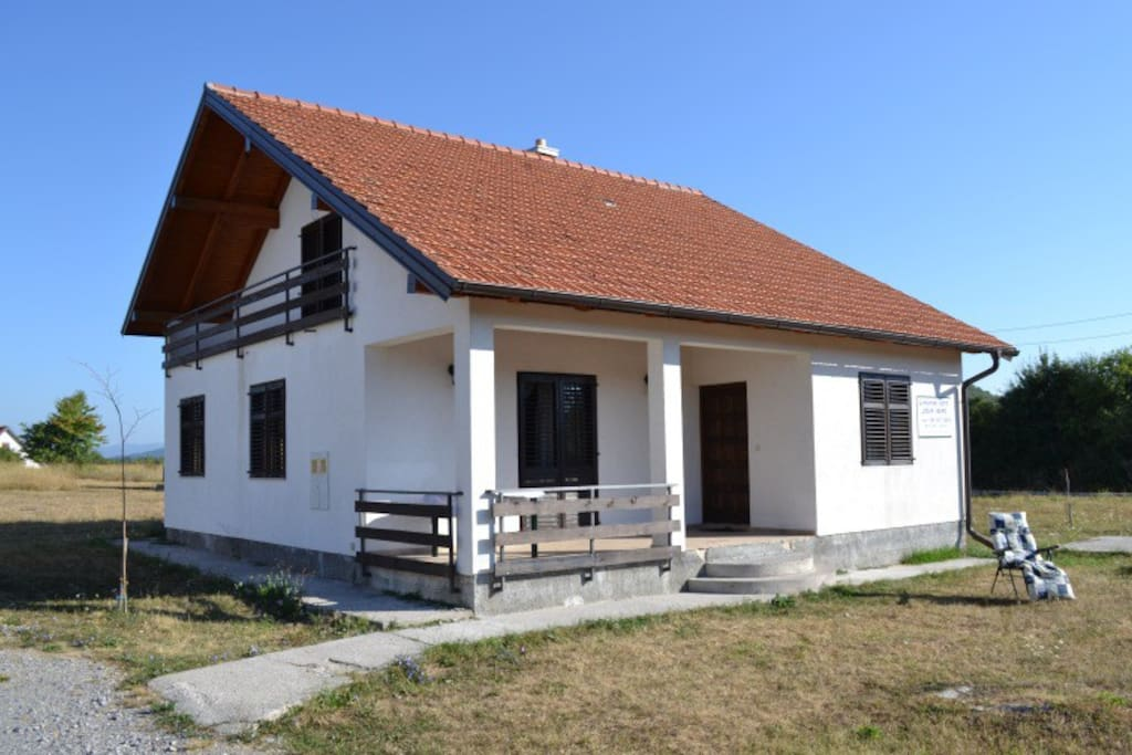 exterior of the house