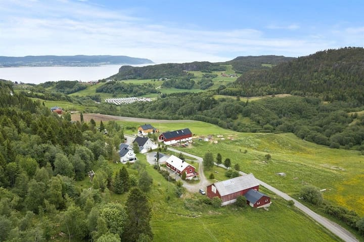 Ecofarm stay close to Trondheim