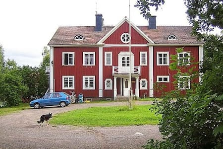 Double room in 130 year old home - Hedemora