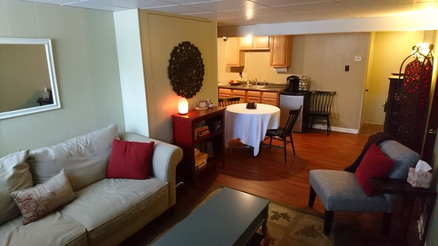 Convenient, private, cozy studio suite - Allentown - Huis
